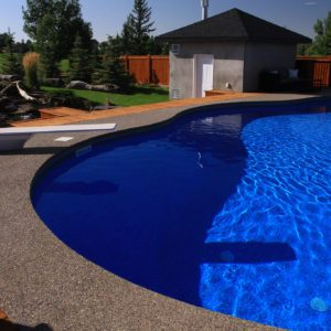 Lethbridge In Ground Pool Installation