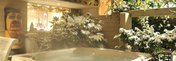 Beachcomber Tub Snow