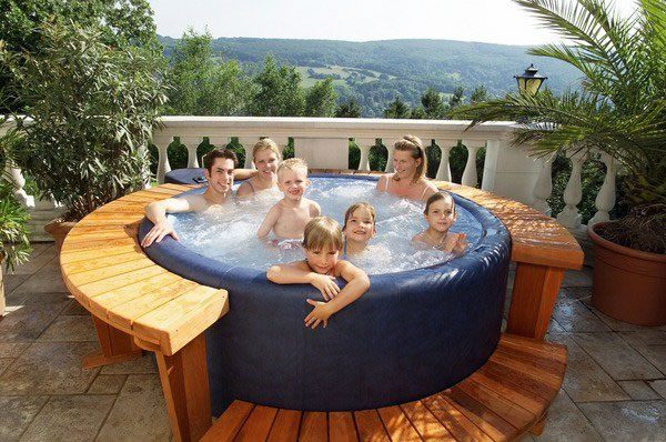 canada softub inside tub soft with
