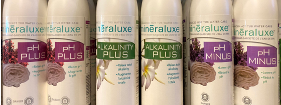 Mineraluxe water care