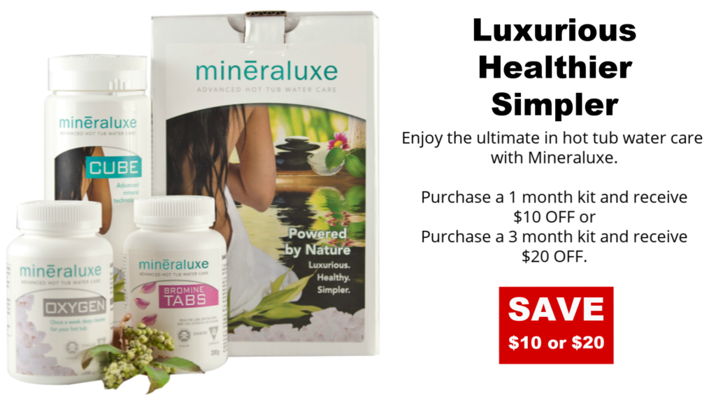Mineraluxe Hot Tub Water Care