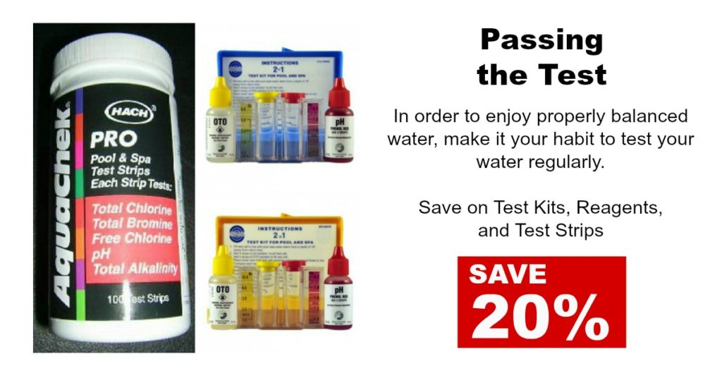 Save on Test Strips and Test Reagents