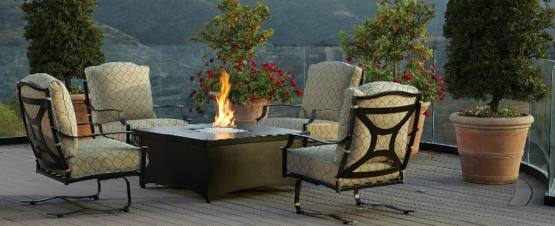 OW Lee Fire Pit Tables